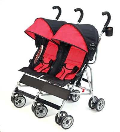 Kolcraft Cloud Side-by-Side Double Umbrella Stroller – Best Double Umbrella Stroller
