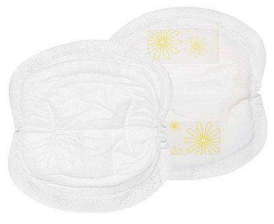 Medela Excellent Absorbency Leak Protection Double Adhesive Keeps Pads in Place Nursing Disposable Breast Pads