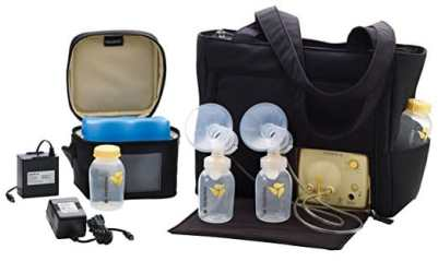 Medela Pump in Style Advanced Double Electric Breast Pump with On the Go Tote 2Phase Expression Technology with One-touch