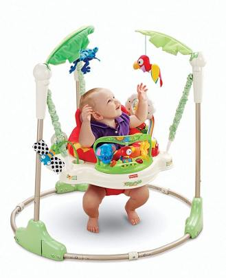 Fisher Price Rainforest Jumperoo Baby Bouncers