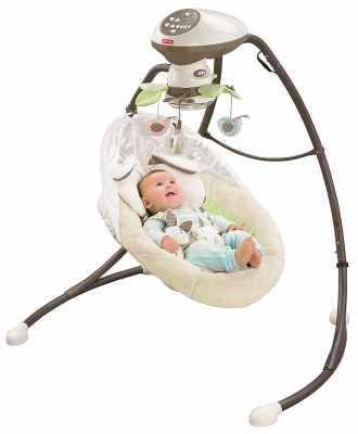 Fisher Price Snugabunny Cradle n Swing