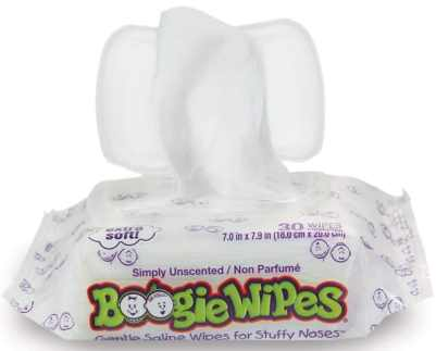 Boogie Wipes Soft Natural Saline Wet Wipes