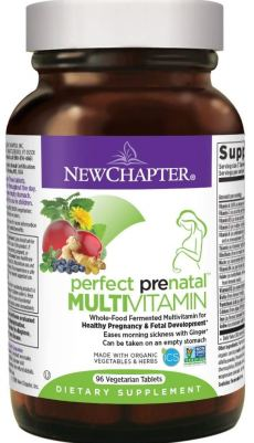 New Chapter Perfect Prenatal Vitamin