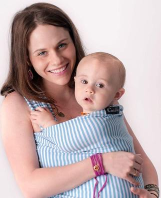 CuddleBug Ergo Baby Carrier