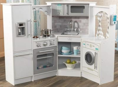 KidKraft Ultimate White Play Kitchen Set