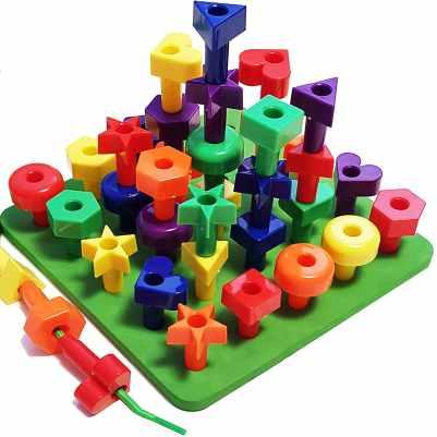 Kids Korner Peg Board Stacking Toddler Toys