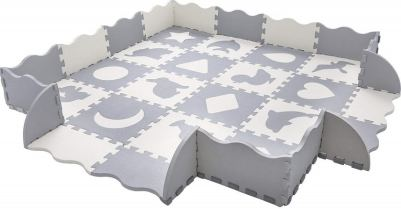 SUPERJARE Fence Baby Play Mat