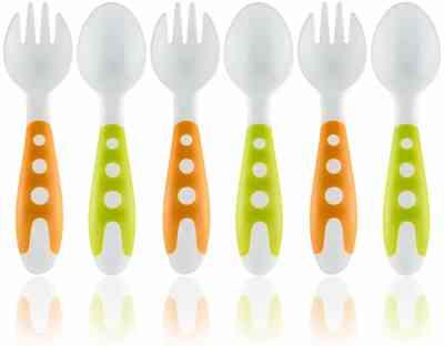 Lullababy Toddler Utensils Spoon Set