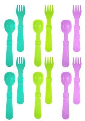 Re-Play Toddler Feeding Utensils Spoon