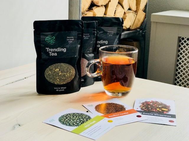 De nieuwste trend op theegebied: Trending Tea