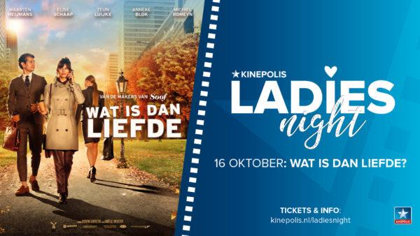 Avondje uit met vriendinnen? Ga naar de Ladies Night bij Kinepolis!