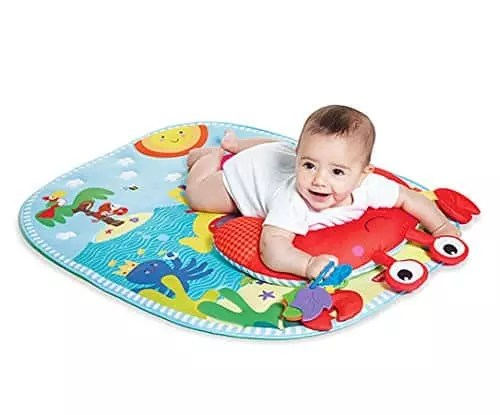the best tummy time mats y baby