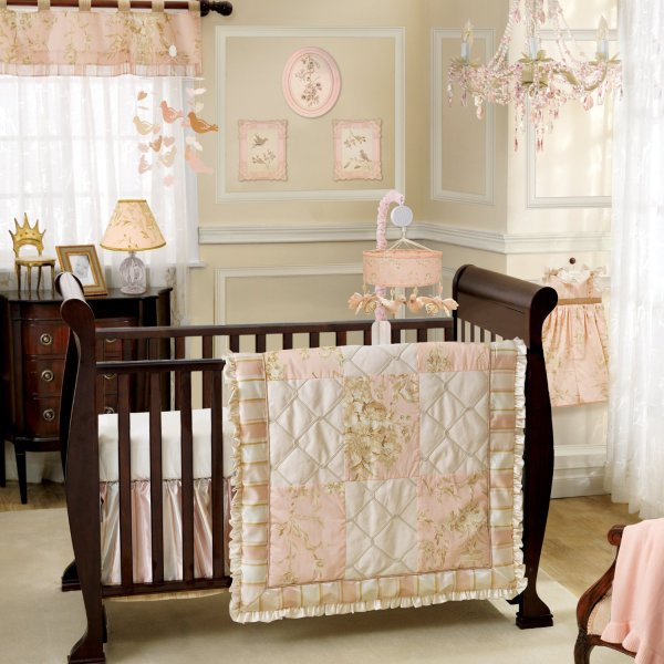 Lambs and Ivy Little Princess Nursery Decor and Bedding   Baby     Lambs and Ivy Little Princess Nursery Decor and Bedding