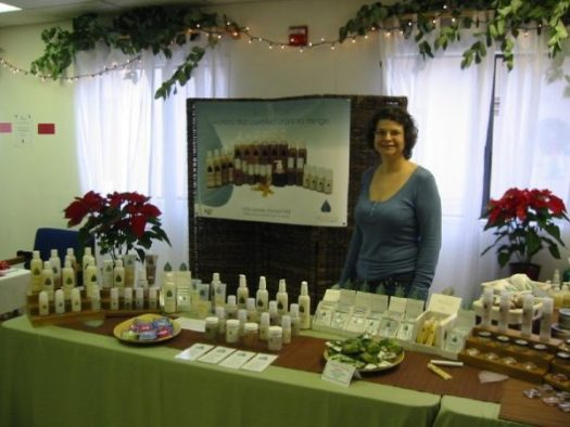 I sell herb products to add extra money in my retirement account.
