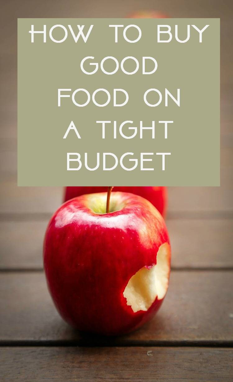 Thrifty Food - How to do your food shopping on a budget, How to buy good food on a tight budget, how to buy good food on a budget