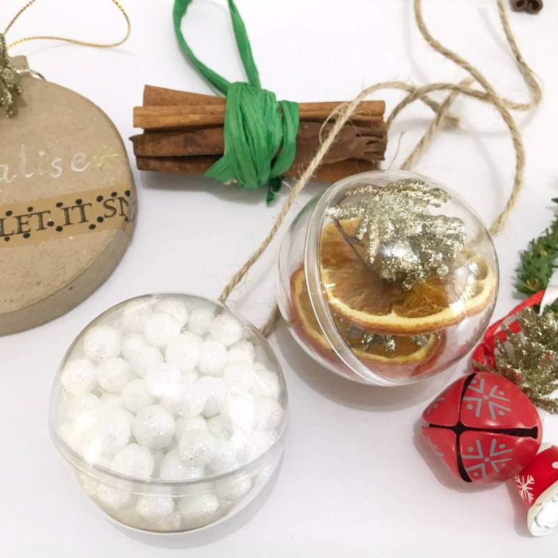 Christmas Baubles DIY