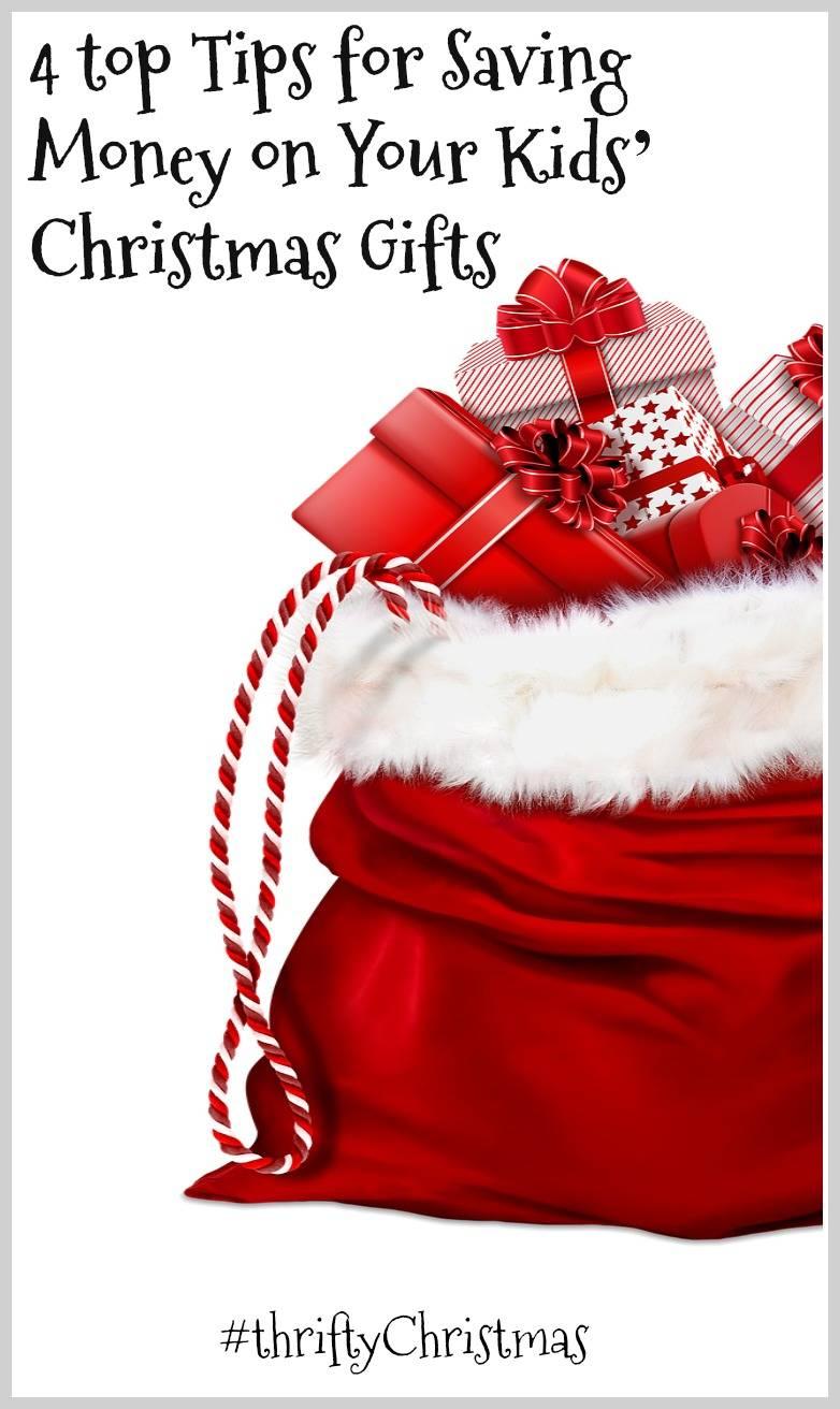 Saving money on christmas gifts for kids