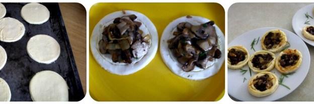 mushroom tarlets