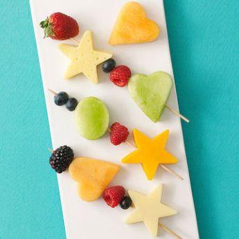 20 merende dietetiche e sane per bambini - formaggi frutta