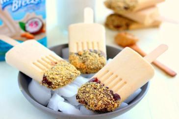 20 merende dietetiche e sane per bambini - gelato burro di arachidi