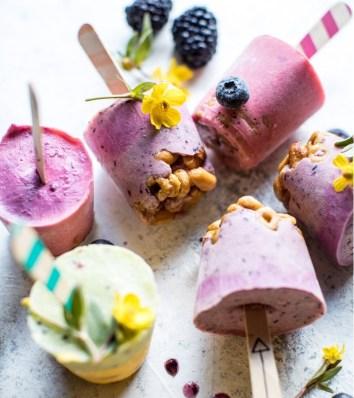 20 merende dietetiche e sane per bambini - gelato yogurt 1