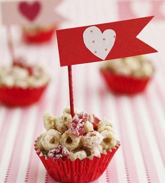 20 merende dietetiche e sane per bambini - grappolo muffin