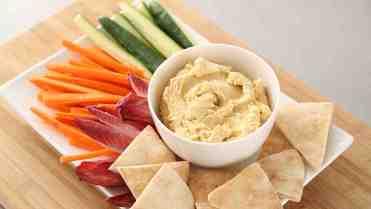 20 merende dietetiche e sane per bambini - hummus