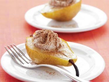 20 merende dietetiche e sane per bambini - pera ricotta