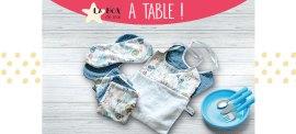 BabyCréa box mai repas table