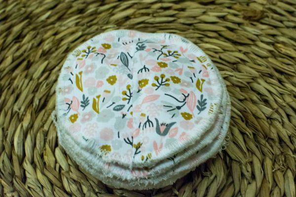 coussinets d'allaitement lavables maternité