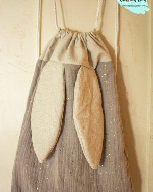 sac à dos pochon maternelle crèche bébé enfant fait main artisanale