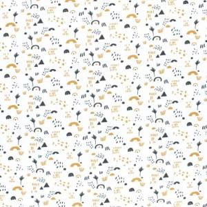 tissu coton print