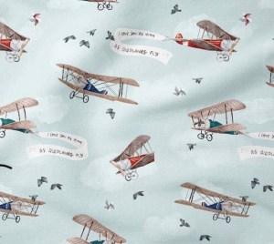 tissu coton aviateur