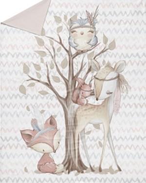 couverture-plaid-foret-bébé-fait-main-artisanale-made-in-france