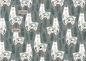 tissu-lamas-fleurs