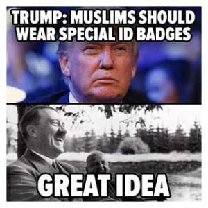 TrumpMuslim Hitler
