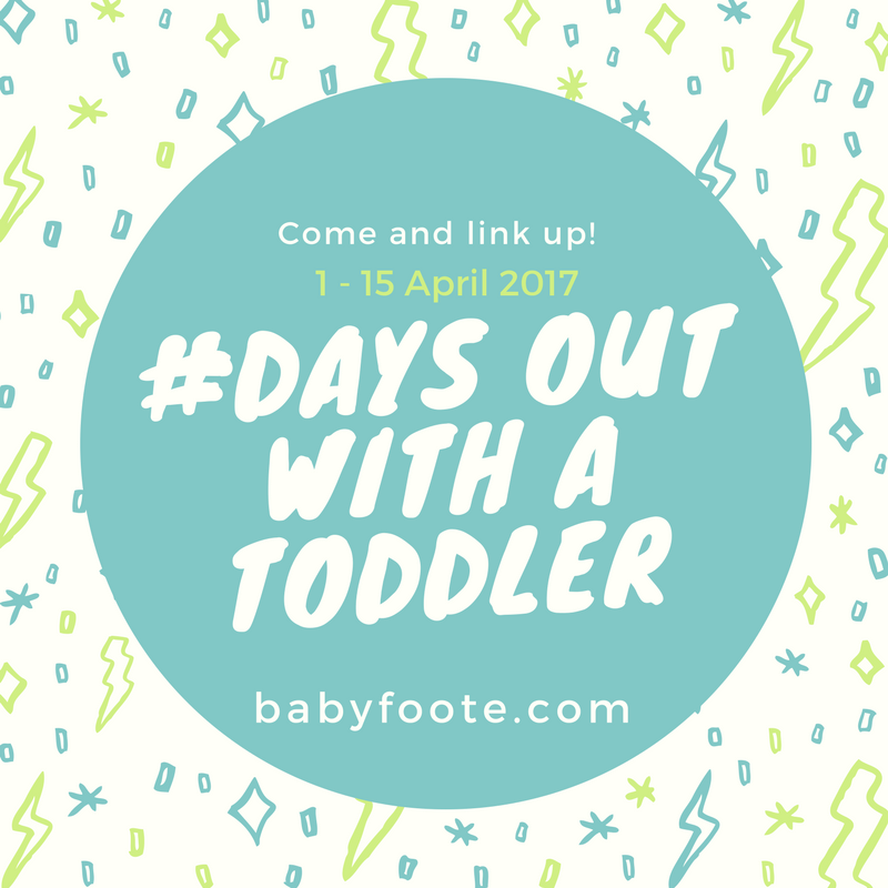 days out with a toddler linky April