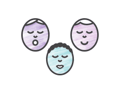 baby diversity illustration
