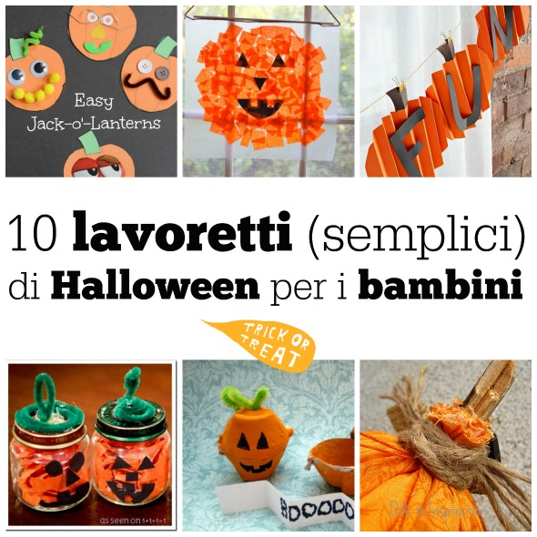 10 Lavoretti Semplici Di Halloween Per I Bambini Babygreen