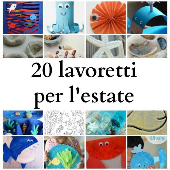 20 Lavoretti Per Bambini Per Lestate Babygreen