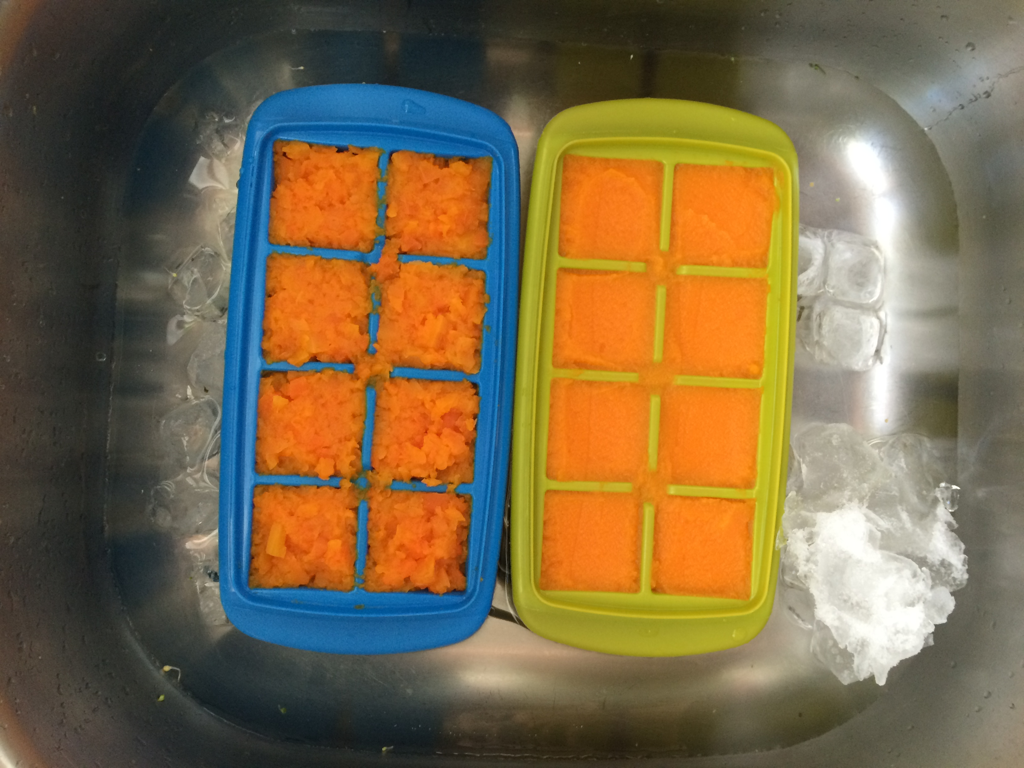 Cooking & Freezing Your Own Baby Food