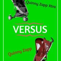 Direktvergleich: Quinny Zapp vs. Quinny Zapp Xtra