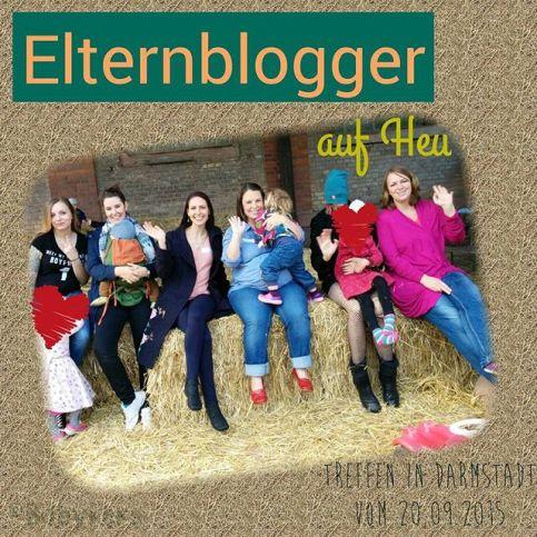 Elternblogger auf Heu