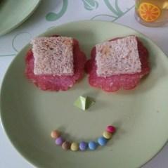 Guten Morgen! So sieht es aus, wenn der Liebste für Babykeks Frühstück richtet
