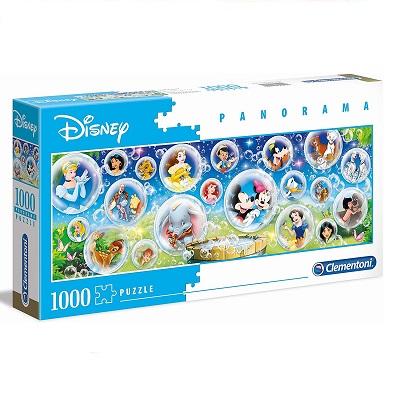 Clementoni - 39515 - Disney Panorama Collection - Disney Classic - 1000 Pezzi