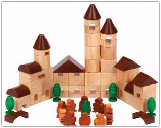 wooden blocks velcro