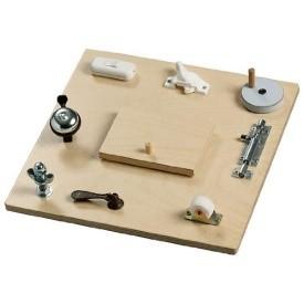 Pastel Wooden Toys Sensory Busy Board