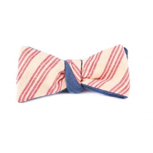 noeud-papillon-bleu-gris-revers-rayures-club-ecru-et-rouge