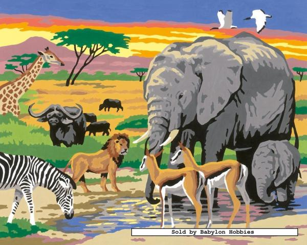 Painting by Numbers Wildlife by Ravensburger 284030 eBay
