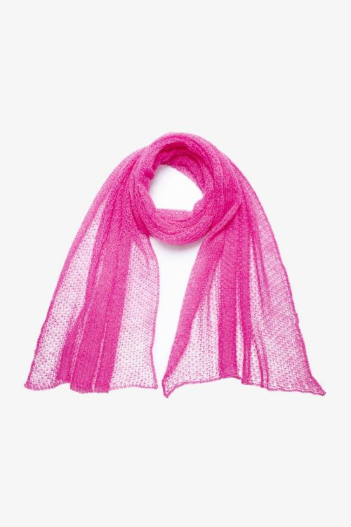 Babymoh Atmosphere shawl Fuchsia